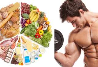 Food for bodybuilders